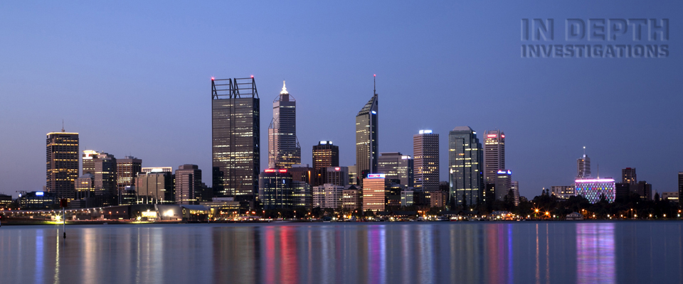 Perth City at Dusk